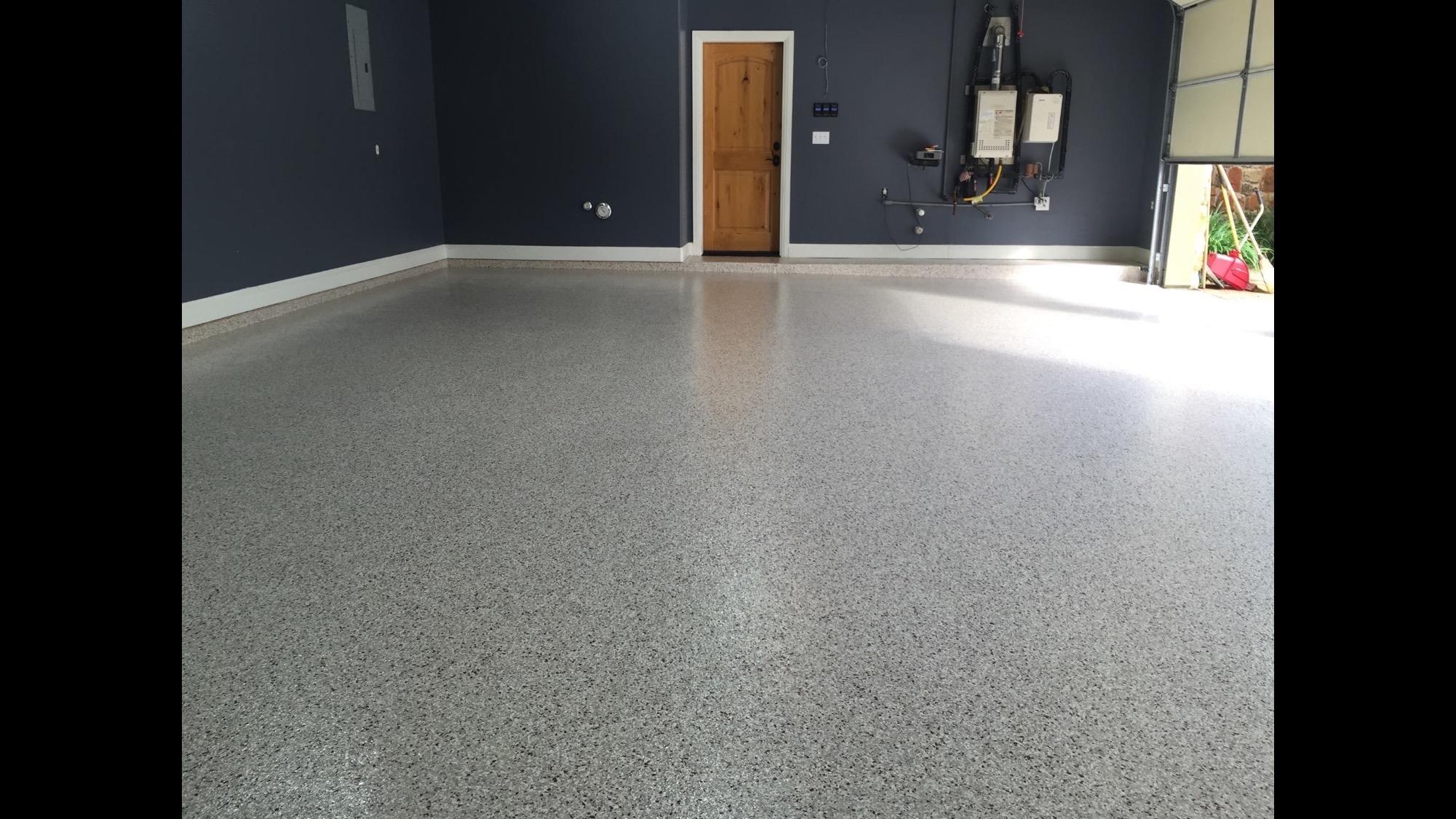 Epoxy garage floor photos best epoxy garage floor texas for 2 floor garage